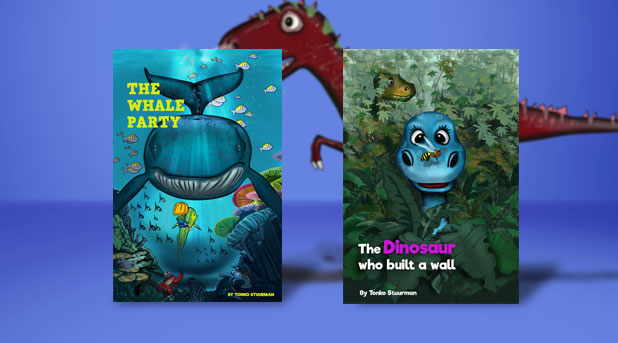 Two Illustrated Childrens's books